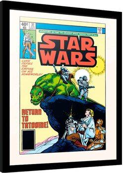 Framed poster Star Wars - Return to Tatooine