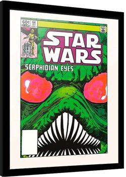 Framed poster Star Wars - Serphidian Eyes