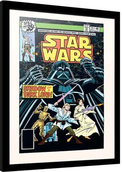 Framed poster Star Wars - Shadow of the Dark Lord