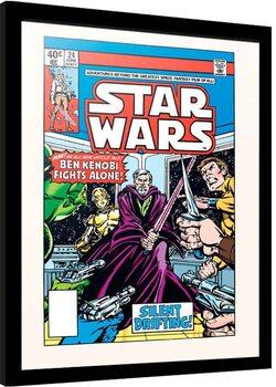 Framed poster Star Wars - Silent Drigting