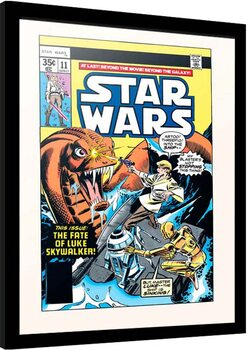 Framed poster Star Wars - Star Search