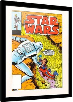 Framed poster Star Wars - The Alderan Factor