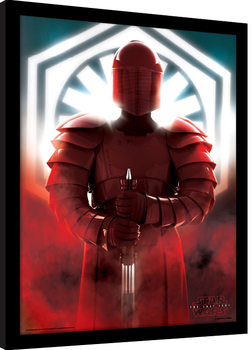 Star Wars The Last Jedi - Elite Guard Defend Framed poster