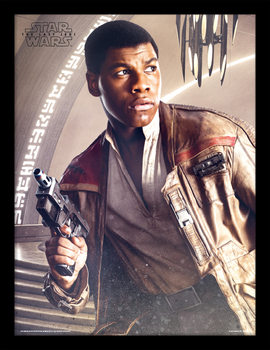 Star Wars The Last Jedi - Finn Blaster Framed poster