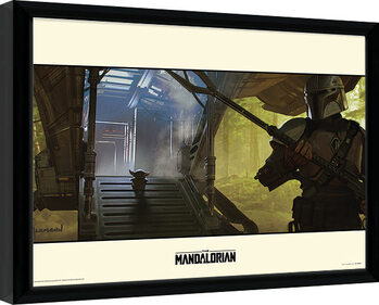 Star Wars: The Mandalorian - Explore Framed poster