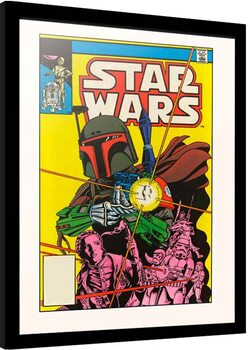 Framed poster Star Wars - The Search Begins