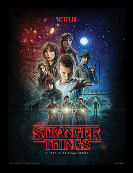 Stranger Things - One Sheet Framed poster