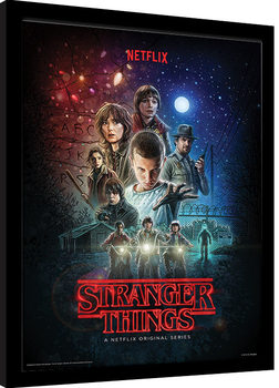 Stranger Things - One Sheet Framed poster