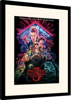 Stranger Things - Summer of 85 Framed poster