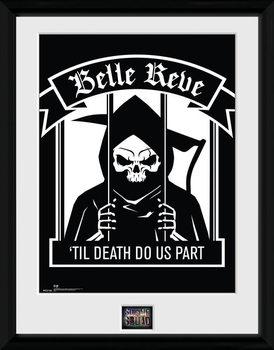 Suicide Squad - Belle Reve plastic frame