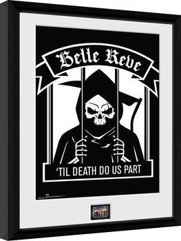 Suicide Squad - Belle Reve Framed poster