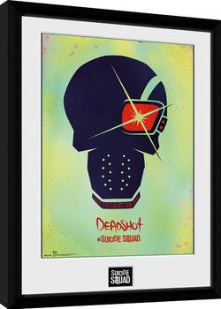 Suicide Squad - Deadshot Skull Framed poster
