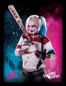 Framed poster Suicide Squad - Harley Quinn