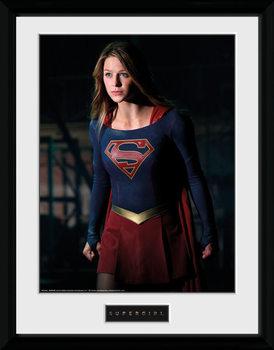 Supergirl - Stand Framed poster