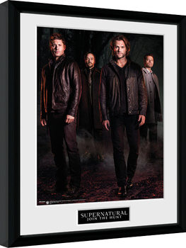 Supernatural - Key Art Framed poster