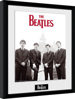 The Beatles - Boat Framed poster