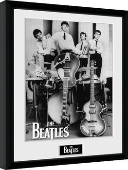 The Beatles - Instruments Framed poster