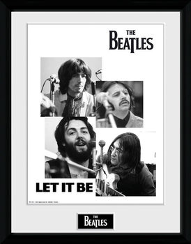 The Beatles - Let It Be plastic frame