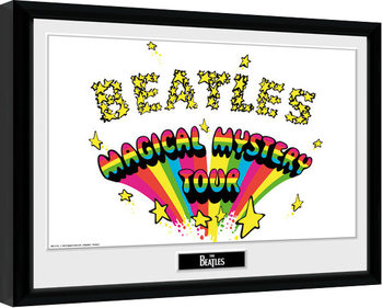 The Beatles - Magical Mystery Framed poster
