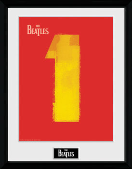 The Beatles - No1 Red plastic frame