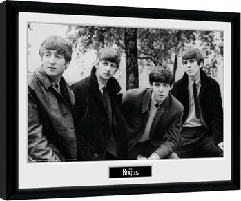 The Beatles - Pose Framed poster