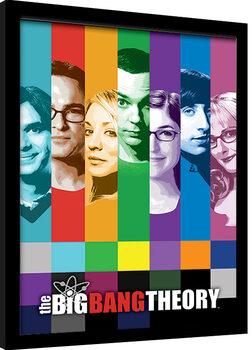 Framed poster The Big Bang Theory - Signals