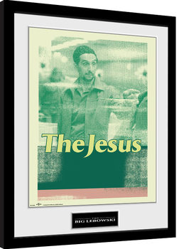 The Big Lebowski - The Jesus Framed poster