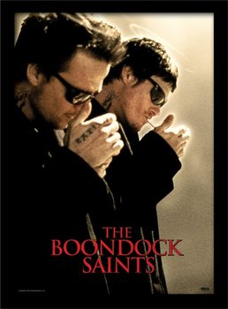 Framed poster The Boondock Saints - Light Up