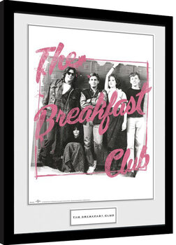 The Breakfast Club - The Breakfast Club Framed poster