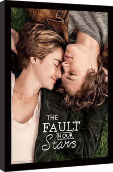 Framed poster The Fault In Our Stars - One Sheet
