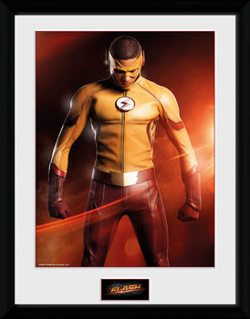 The Flash - Kid Flash plastic frame