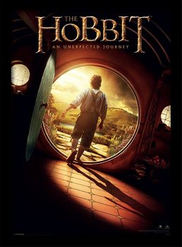The Hobbit - One Sheet plastic frame