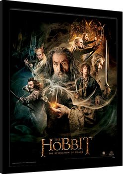 Framed poster The Hobbit - One Sheet