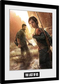 The Last Of Us - Key Art Framed poster