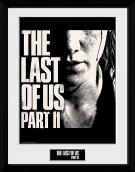 The Last Of Us Part 2 - Face Framed poster