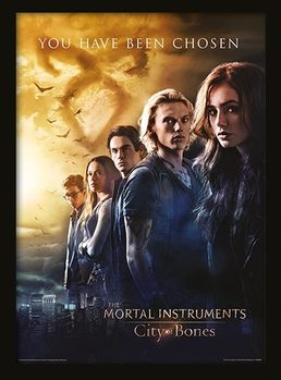 THE MORTAL INSTRUMENTS CITY OF BONES - chosen plastic frame