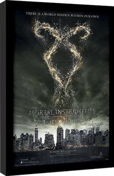 Framed poster THE MORTAL INSTRUMENTS CITY OF BONES – rune