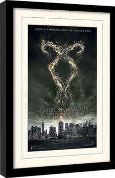 THE MORTAL INSTRUMENTS CITY OF BONES – rune  Framed poster