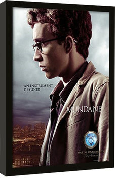 THE MORTAL INSTRUMENTS CITY OF BONES –  simon Framed poster