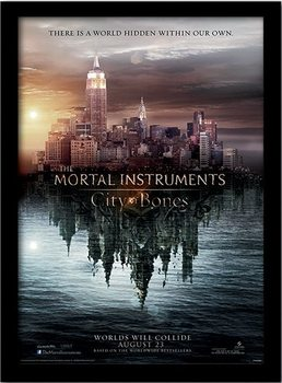 THE MORTAL INSTRUMENTS CITY OF BONES – teaser plastic frame