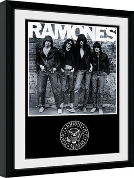 The Ramones - Album Framed poster