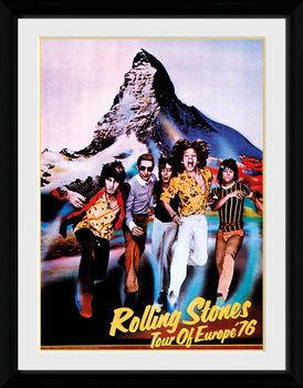 The Rolling Stones - On Tour 76 plastic frame