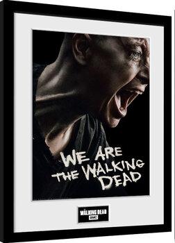 Framed poster The Walking Dead - Alpha