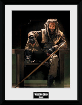 The Walking Dead - Ezekial Framed poster