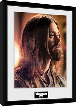 The Walking Dead - Jesus Framed poster