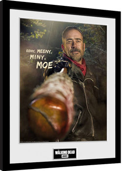 The Walking Dead - Negan Framed poster