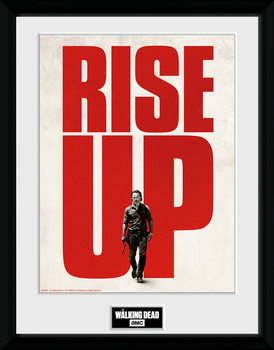 The Walking Dead - Rise Up Framed poster