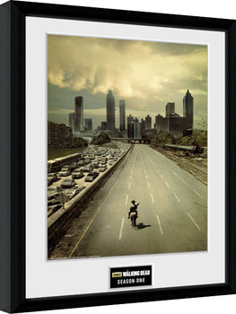 Framed poster The Walking Dead - Season 1