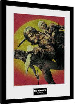 Framed poster The Walking Dead - Season 10