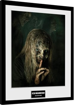 Framed poster The Walking Dead - Season 9
